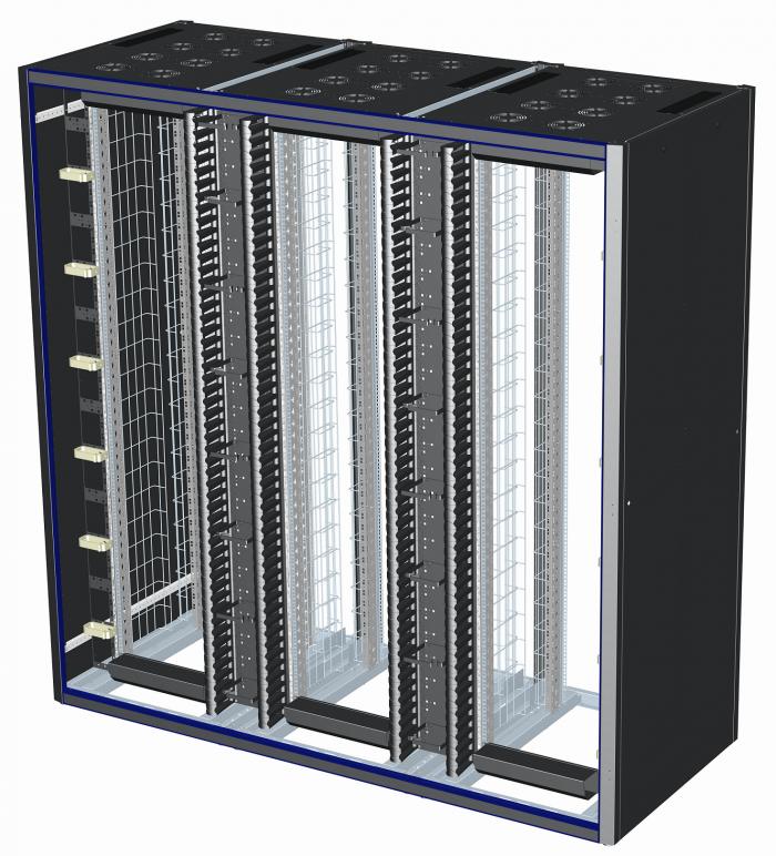 Design Access Multiple 3  baies brassage et réseau